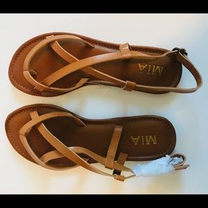 MIA women's gladiator sandal size 7